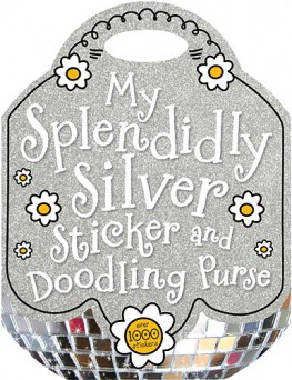 Thomas Nelson My Splendidly Silver Sticker and Doodling Purse Book
